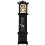 Black Bonnet-Top Grandfather Clock