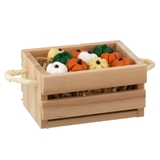 Large Crate with Pumpkins