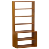 Narrow Walnut Display Shelf