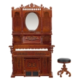 High Victorian Parlour Organ and Stool
