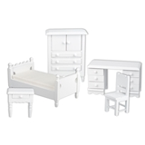 5-Pc. White Child's Bedroom Set