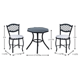 Three Piece Carlsbad Patio Set