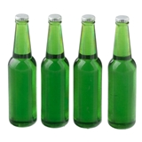 Four Large Green Bottles