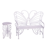 Butterfly Bench and Table