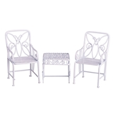3-Pc. Butterfly Table and Chairs Set