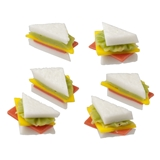 Six Sandwich Triangles