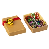 Box of Christmas Decorations