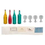 Large Wine Bottle Set