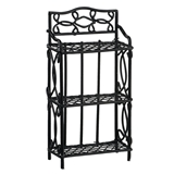 Petite Black Wire Shelf