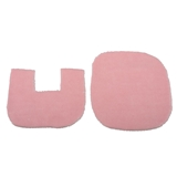 2-Pc. Pink Bath Mat Set