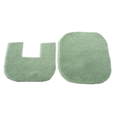 2-Pc. Green Bath Mat Set