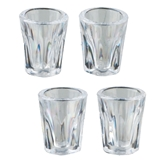 Four Ribbed All Purpose Glasses