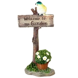 Welcome to my Garden Signpost