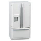 White French Door Refrigerator/Freezer