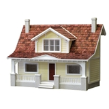 1/2 inch Scale Classic Bungalow by Real Good Toys