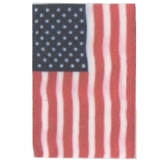 American Flag for Garden Stand