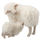 Ewe and Nursing Lamb Set