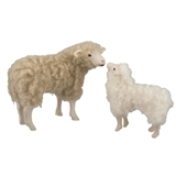 Kissing Sheep and Lamb Set