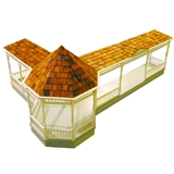 Gazebo Porch Kit Addition