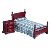 Anders Bed and Night Table Set