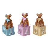 Nursery Block Bear Trio