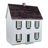 1/2 inch Scale Colonial Dollhouse Kit by RGT