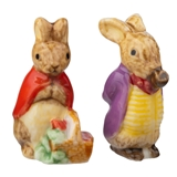 Mother and Father Rabbit