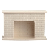 1/24 Scale Simple Brick Fireplace