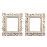 2 Carved Craftsman Frames
