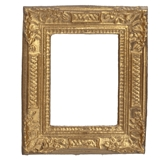 Gilded Victorian Leaf and Diamond Frame