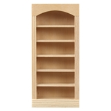 1/2 inch Scale Five Shelf Bookcase
