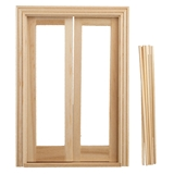 1/2 inch Scale Classic French Doors