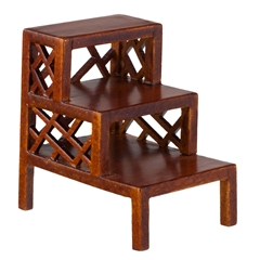Oriental Fretwork Step Table