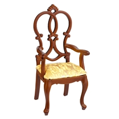 Queen Anne Croix Armchair