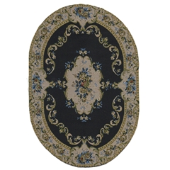 Arabesque Oval Rug