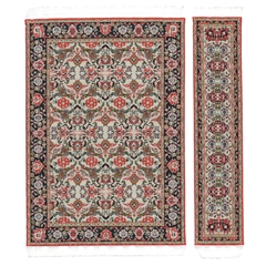Winter Garden Rectangle Rug and Runner Set