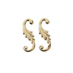 Gold Plated Brass S Hook by Houseworks