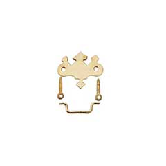 Gold Plated Brass Chippendale Drawer Pull by House