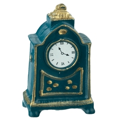 Traditional Mantel Clock by Reutter Porzellan