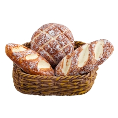 Fresh Bread Basket by Reutter Porzellan
