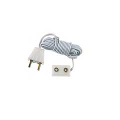Single Receptacle Extension Cord with Plug