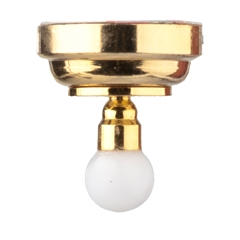 1/24 Scale Ashland Globe Ceiling Light