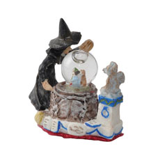 The Witch with Crystal Ball Tabletop Figurine