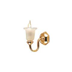 Single-Tulip Wall Sconce