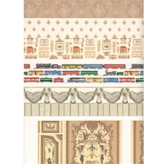18-Sheet Neutral/Beige Wallpaper Assortment