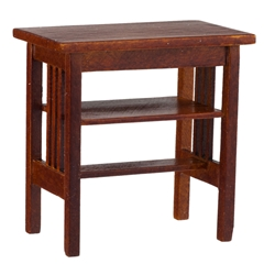Craftsman Spindle-Style Side Table