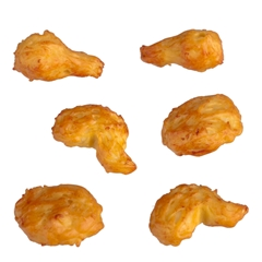 Six Pieces of Fried Chicken