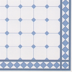 Blue Rhombus Tile Sheet