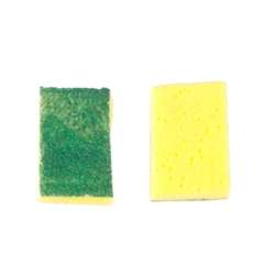 "Two ""Scrubby"" Sponges"