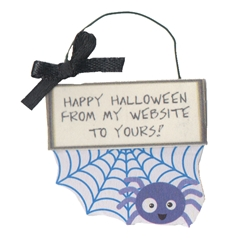 "Spider ""Website"" Sign"